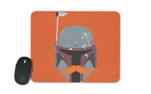 Boba Stache for Mousepad