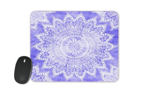 Bohemian Flower Mandala in purple for Mousepad