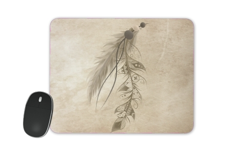 Boho Feather for Mousepad
