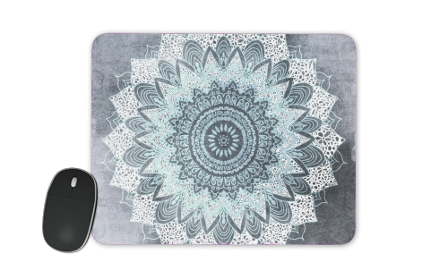 Bohochic Mandala in Blue for Mousepad