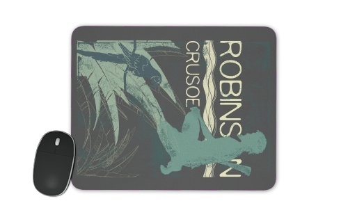 Book Collection: Robinson Crusoe for Mousepad