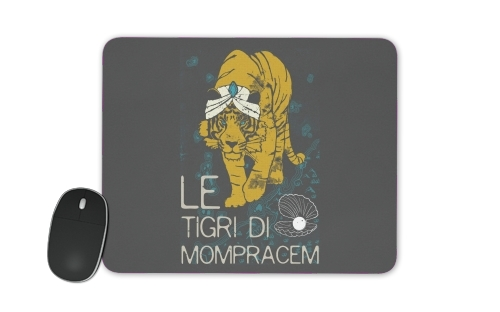 Book Collection: Sandokan, The Tigers of Mompracem for Mousepad