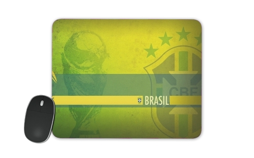 Brazil Selecao Home for Mousepad