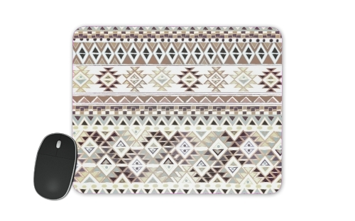 BROWN TRIBAL NATIVE for Mousepad