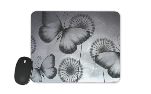 Butterflies Dandelion for Mousepad