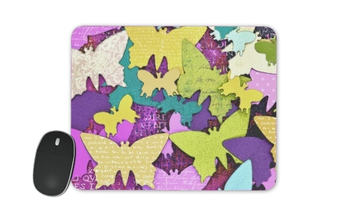 Butterflies art paper for Mousepad