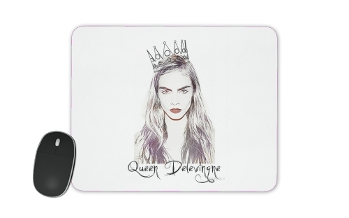 Cara Delevingne Queen Art for Mousepad