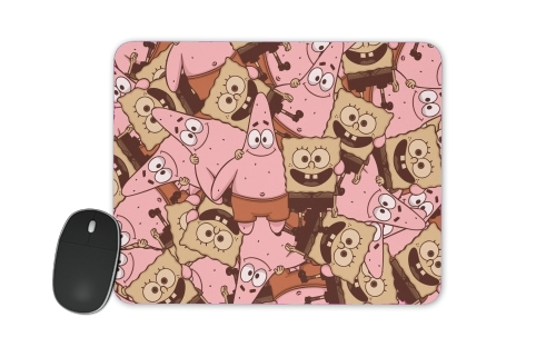 Chocolate Bob and Patrick for Mousepad