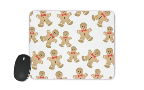 Christmas snowman gingerbread for Mousepad