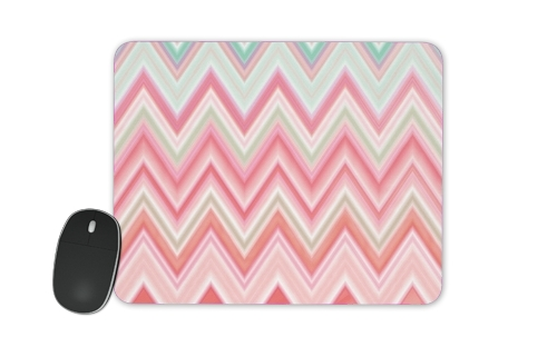 colorful chevron in pink for Mousepad