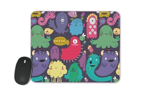 Colorful Creatures for Mousepad