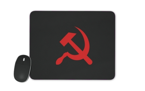 Communist sickle and hammer for Mousepad