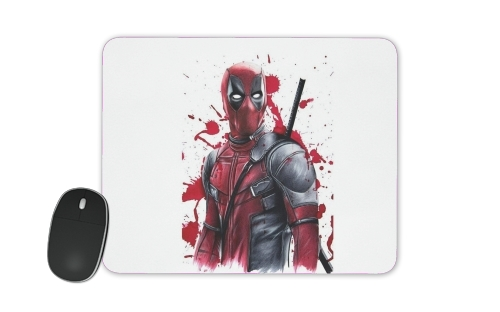 Deadpool Painting for Mousepad