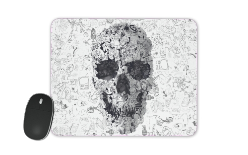 Doodle Skull for Mousepad