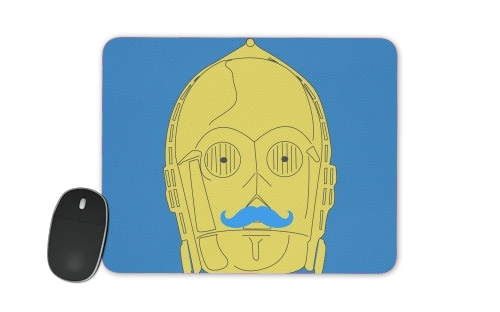 Droid Stache for Mousepad