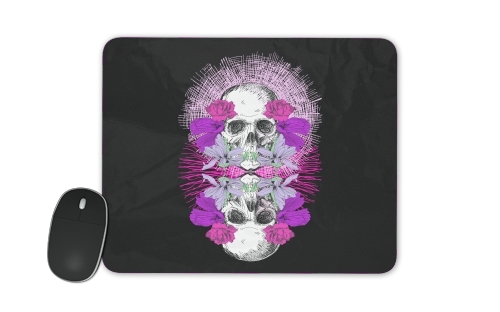 Flowers Skull for Mousepad