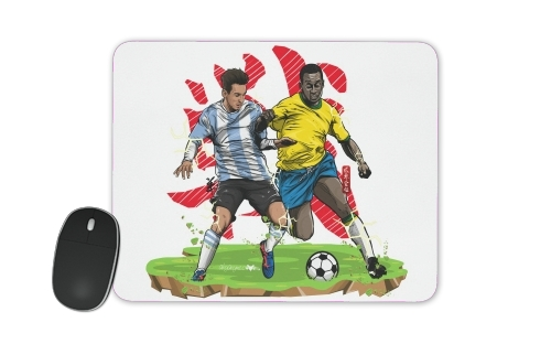Epic Battle: The King vs The Legend for Mousepad