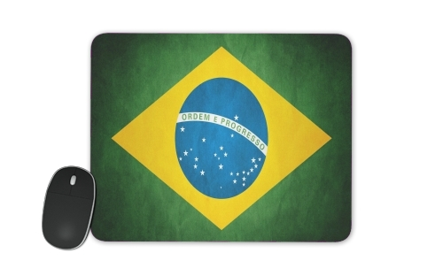 Flag Brasil for Mousepad