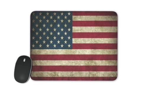 Flag USA Vintage for Mousepad