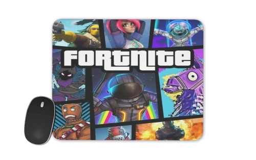 Fortnite - Battle Royale Art Feat GTA for Mousepad