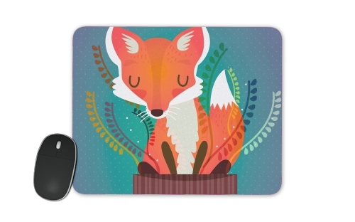 Fox in the pot for Mousepad