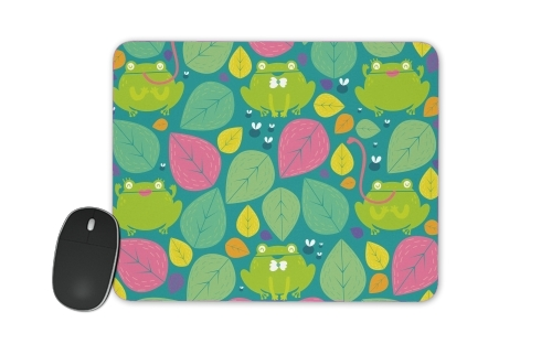 Frogs and leaves for Mousepad