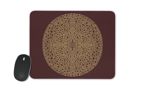 Mandala (Boho Moroccan) for Mousepad
