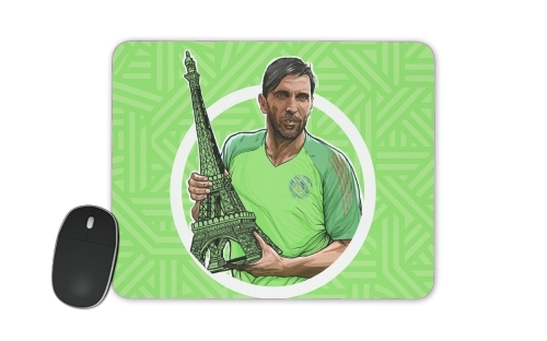 Gigi Goalkeeper Tour eiffel Paris for Mousepad