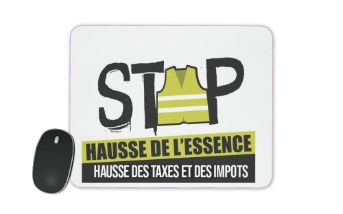 Gilet Jaune Stop aux taxes for Mousepad