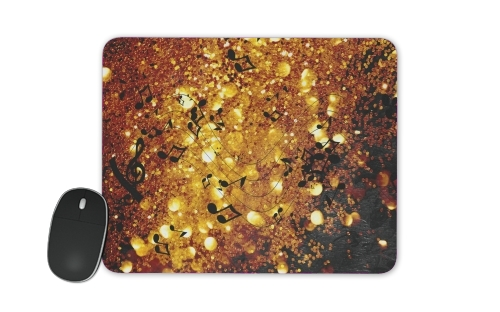 Golden Music for Mousepad