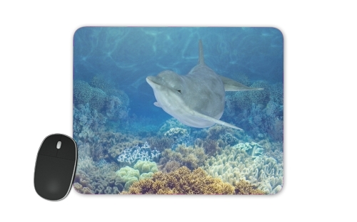 happy dolphins for Mousepad