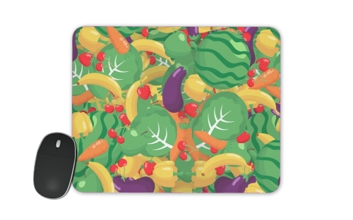 Healthy Food: Fruits and Vegetables V2 for Mousepad