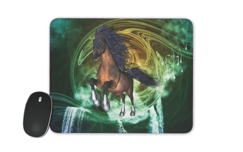 Horse with blue mane for Mousepad