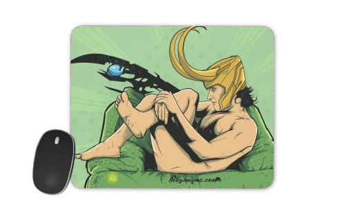 In the privacy of: Loki for Mousepad