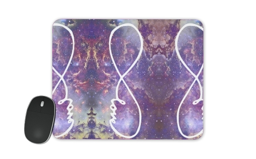 Infinity Love Galaxy for Mousepad