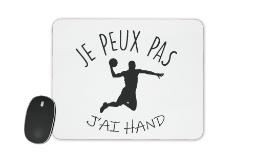 Je peux pas jai handball for Mousepad