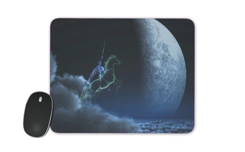 Knight in ghostly armor for Mousepad