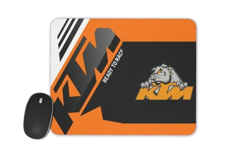 KTM Racing Orange And Black for Mousepad
