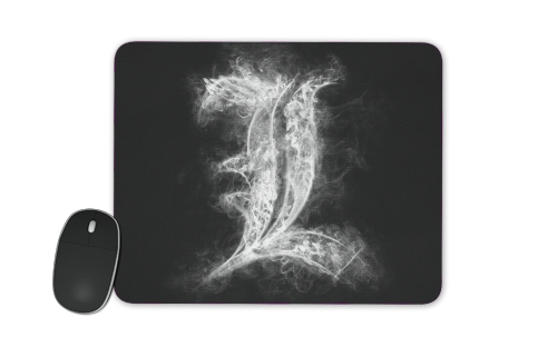 L Smoke Death Note for Mousepad
