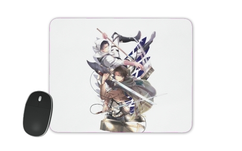 Livai Attack on Titan for Mousepad