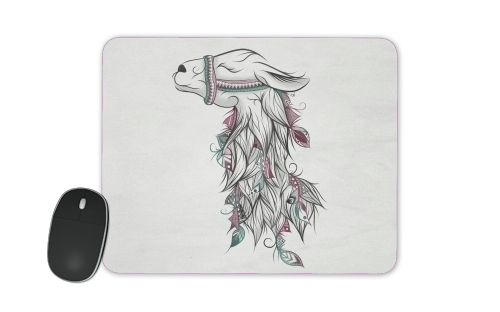 Llama Happy for Mousepad