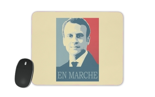 Macron Propaganda En marche la France for Mousepad