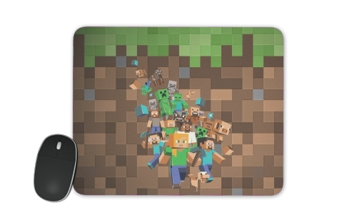 Minecraft Creeper Forest for Mousepad