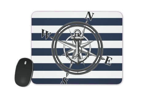 Navy Striped Nautica for Mousepad