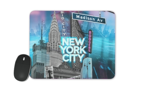 New York City II [blue] for Mousepad
