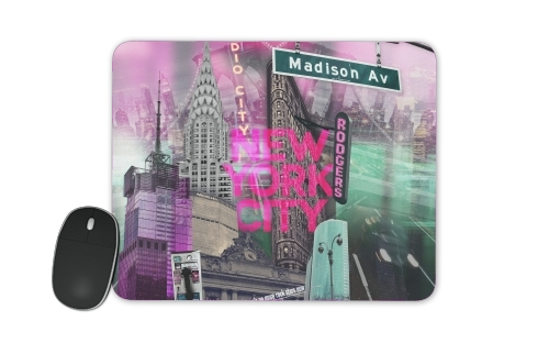 New York City II [pink] for Mousepad
