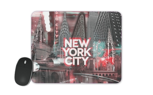 New York City II [red] for Mousepad