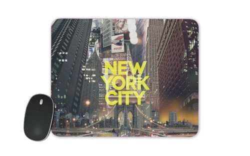New York City II [yellow] for Mousepad