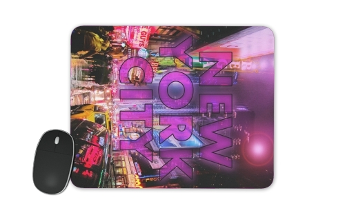 New York City - Broadway Color for Mousepad