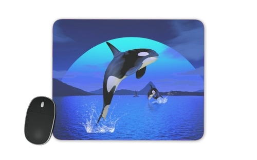 Orca Whale for Mousepad